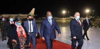 Visite de Felix Tshisekedi en Egypte